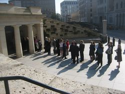 Line to capitol