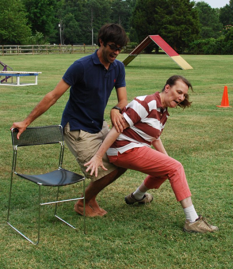 Competitive musical chairs