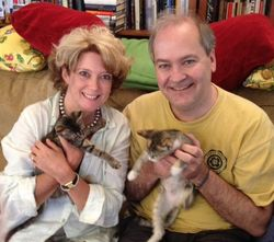 Liz & Preston with Julia & Charlotte