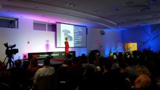 Robin Starr at TEDxAmoskeagMillyard