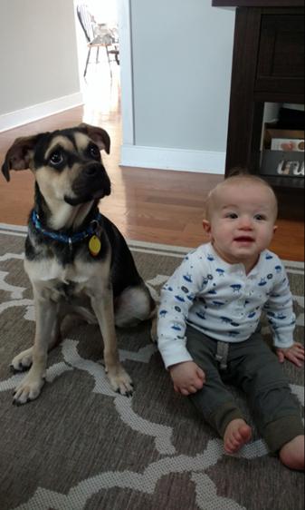 Kona and nephew