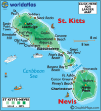 Nevis and StKitts