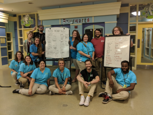 staff following Clear the Shelters 2018